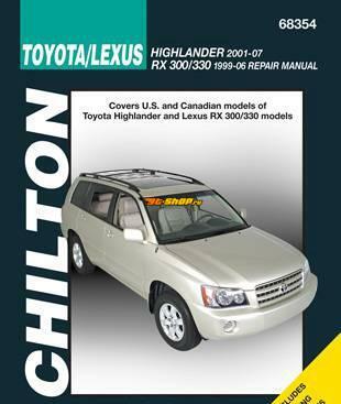 инструкция Toyota Хайлендер #7